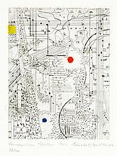 Buchheister, Carl. Un texte de Novalis pour dix planches gravées à l'eau-fo