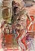 Vent, Hans. Weiblicher Akt. Aquarell auf Papier. Rechts unten signiert und, Hans Vent, €160