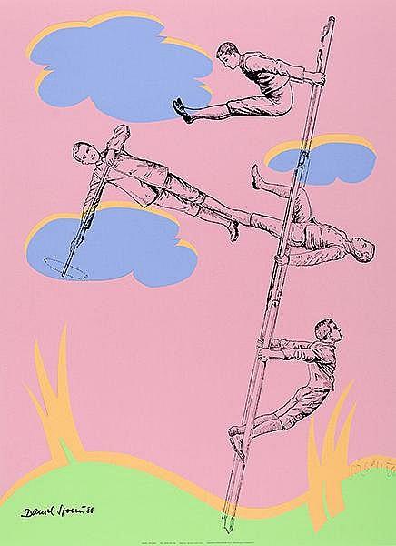 Mappenwerk - - Art Zanders '80. Mappe mit 10 Arbeiten von Christo (2), Jiri