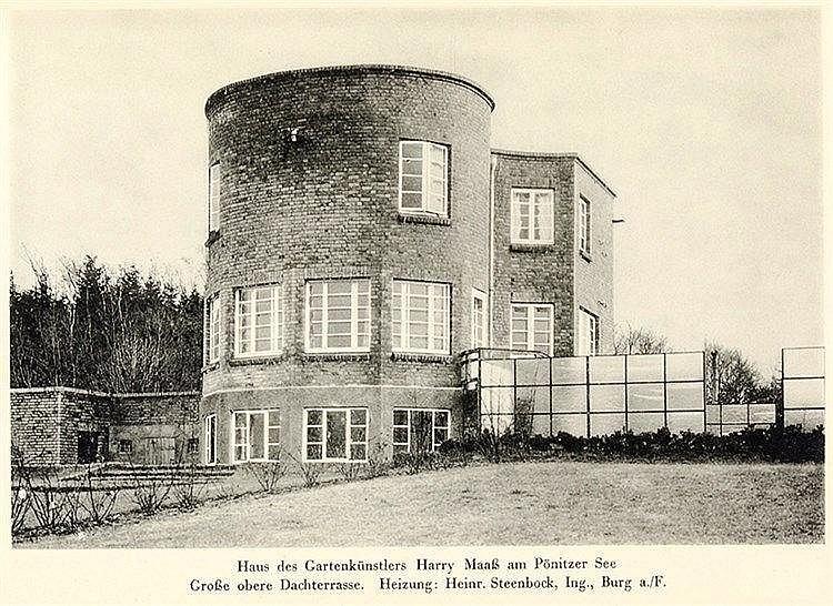 Architektur - - Bräck, Wilhelm. Architekt Wilh. Bräck Lübeck. Mit Abbildung