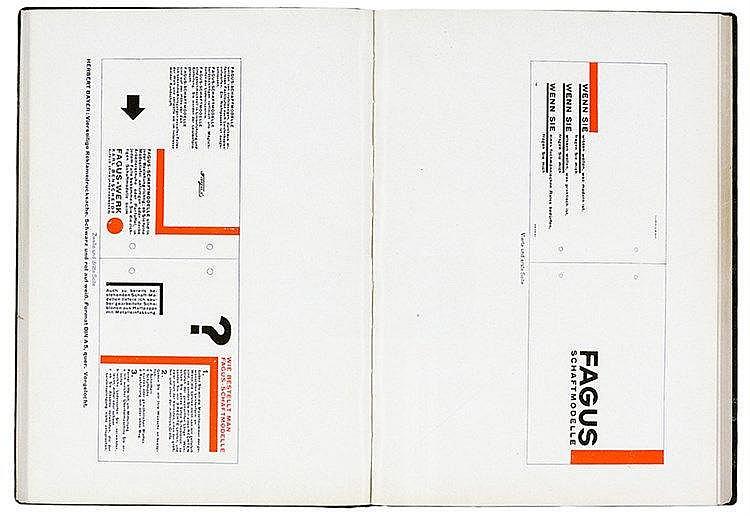 Typographie - - Tschichold, Jan. Die neue Typographie. Ein Handbuch für zei