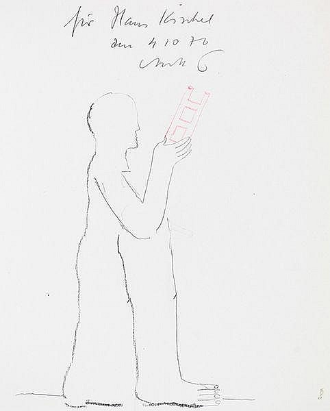 Antes, Horst - - Sammlung von 7 (davon 5 mit eigenhändiger Widmung und Orig