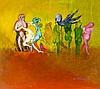 Hilsing, Werner. Ohne Titel (surrealistische Komposition). Öl auf Hartfaser, Werner Hilsing, €200