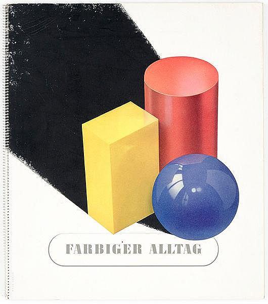 Werbung - - Hölscher, Eberhard / Wilhelm Weber. Farbiger Alltag. Gemeinscha