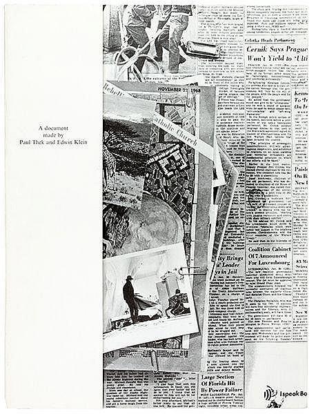 Photobücher - - Thek, P. A Document made by P. Thek and E. Klein. Mit ganzs