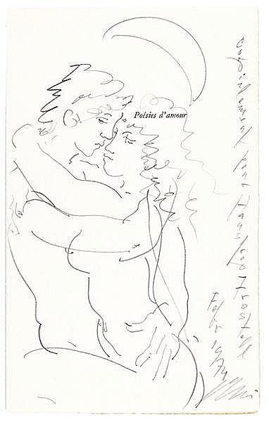 Erni, Hans - - Poésies d'amour. Liebesgedichte. Love Poems. Poesie amorose.