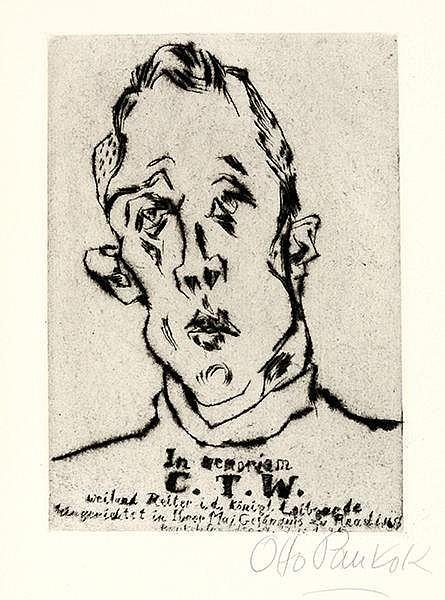 Pankok, Otto - - Wilde, Oscar. Ballade des Zuchthauses zu Reading von C.3.3