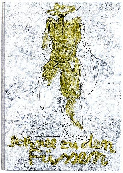 Offhaus, Thomas - - Miller, Henry. Der Schnee zu Füßen. Unikates Malerbuch,