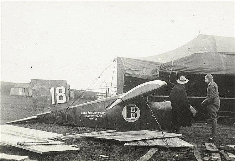 Varia - Luftfahrt - - Zwei Alben mit zusammen über 85 Original-Photographie