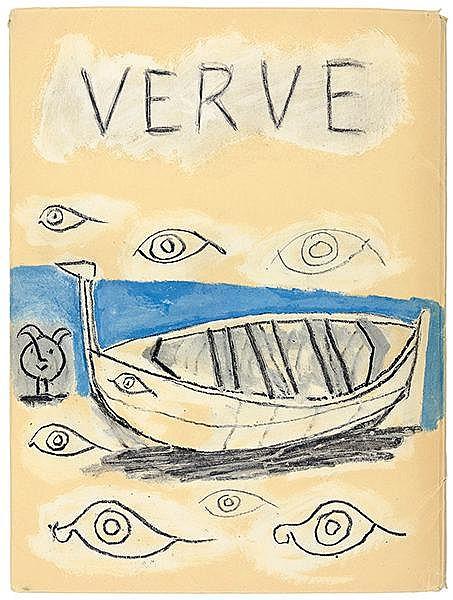 Picasso, Pablo - - Verve Vol. V, No. 19 et 20. Couleur de Picasso. Mit zahl