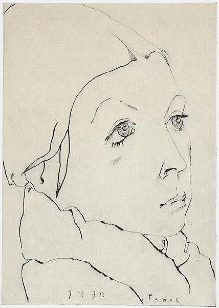 Janssen, Horst. Radierungen - Landschaftsradierungen 1970. 2 Bände. Mit 140
