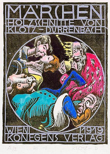Wiener Secession - - Klotz-Dürrenbach, Theodor. Märchen. Mit 16 (inklusive