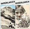Werbung - - Matter, Herbert. Interlaken Schweiz. Prospekt. Gestaltung H. Ma