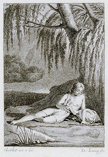 Erotica - - Malfilatre, Jacques Charles Louis Clinchamps de. Narcisse dans