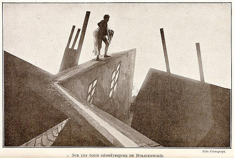 Expressionismus - - Spitzmüller, Georges. Le cabinet du Docteur Caligari. I