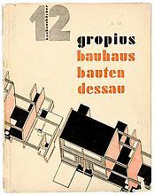 Bauhaus - - Gropius, Walter. Bauhausbauten Dessau. Mit 203 photographischen
