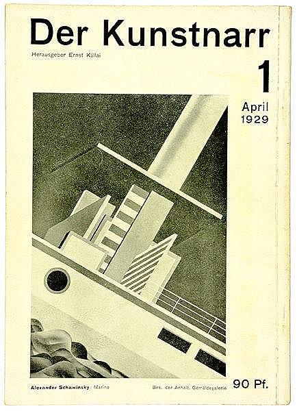 Bauhaus - - Kállai, Ernst (Hg.). Der Kunstnarr. Nr. 1, April 1929 (alles Er