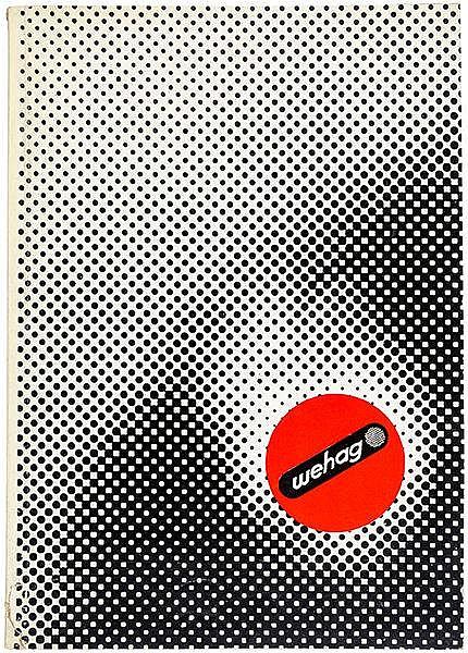 Typographie - - Burchartz, Max. Wehag Katalog 36. Mit zahlreichen Abbildung