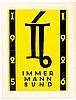 Typographie - - Drei Schriften des Immermann-Bundes in moderner Gestaltung.