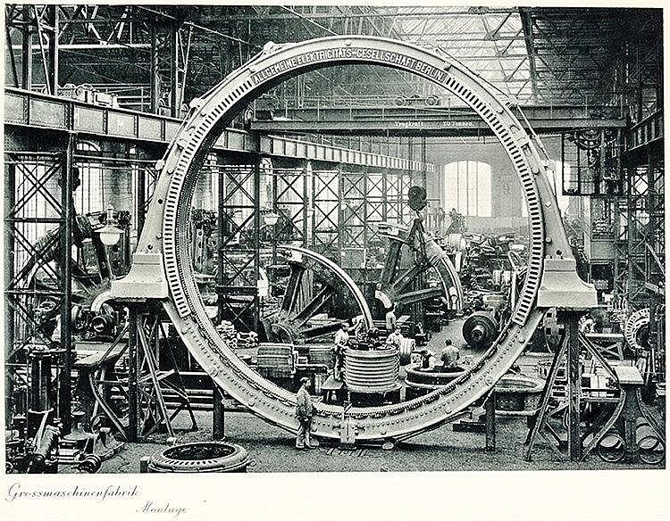 Typographie - - Behrens, Peter. AEG 1883 - 1908. Fünfundzwanzig Jahre anges