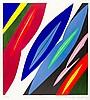 Nay, Ernst Wilhelm. Farblitho 1968-2 (NOR). Farblithographie auf chamoisfar, Ernst Wilhelm Nay, €200