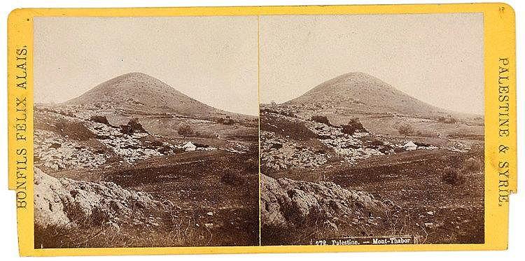 Palästina - - Sammlung von über 110 Stereophotographien aus Palästina und S