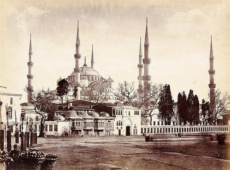 Orient - - Album mit 41 Ansichten aus dem Orient und Griechenland. Original