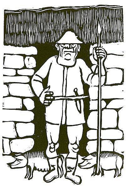 Marcks, Gerhard - - Homer. Odyssee. Die Heimkehr. Gesaenge XIII-XXIV. Mit 1