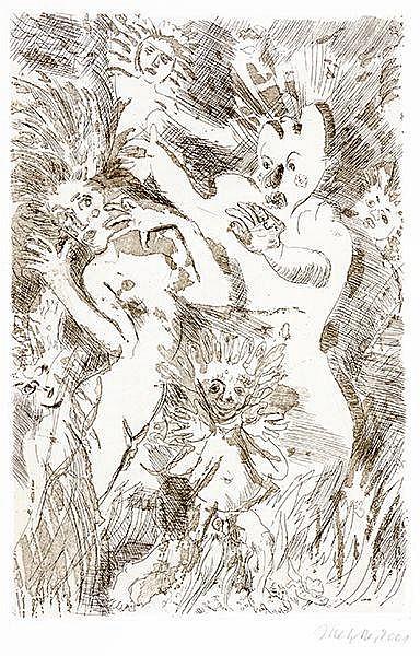 Metzkes, Harald - - Shakespeare, William und Karl Simrock. Walpurgisnachtst