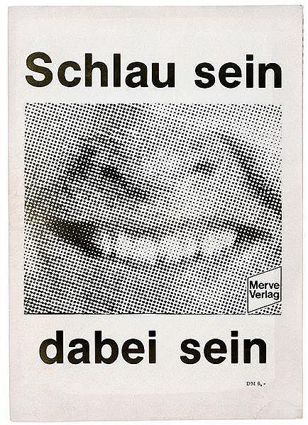 Kippenberger, Martin. Schlau sein, dabei sein. Merve Verlag 1970-1980. Reda