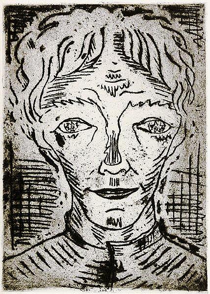 Gramatté, Walter - - Büchner, Georg. Lenz. Ein Fragment. Mit 12 ganzseitige