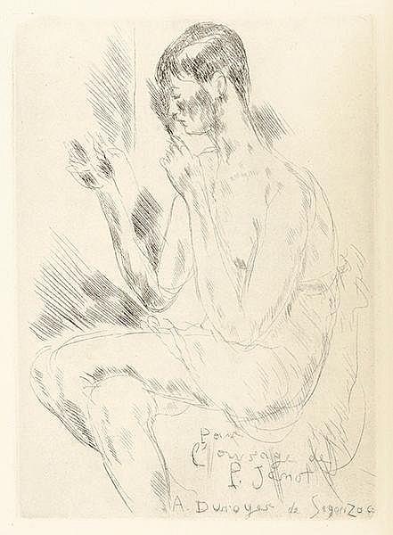 Dunoyer de Segonzac, André - - Jamot, Paul. Dunoyer de Segonzac. Mit 204 Te