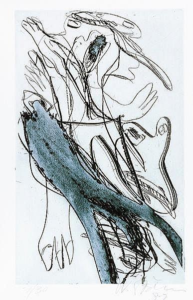 Stöhrer, Walter - - Klünner, Lothar. Stumme Muse submarin. 33 Liebesgedicht