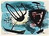 Schneider, Gérard Ernest. Burgos. Farbaquatinta-Radierung auf chamoisfarben, Gerard Schneider, €160