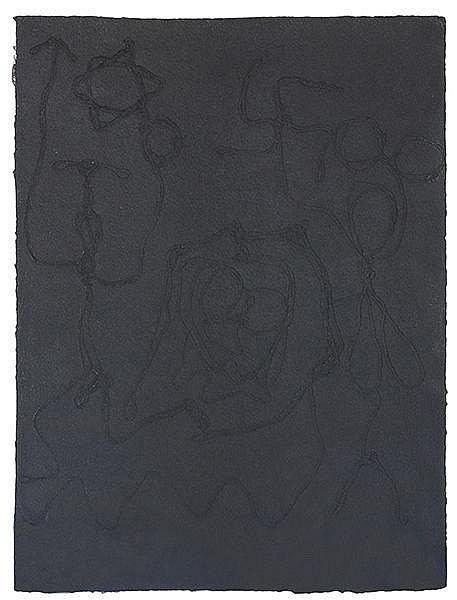 Penck, A. R - - Anderson, Sascha. Rohcaz. (Zachor). Mit 5 Prägedrucken (