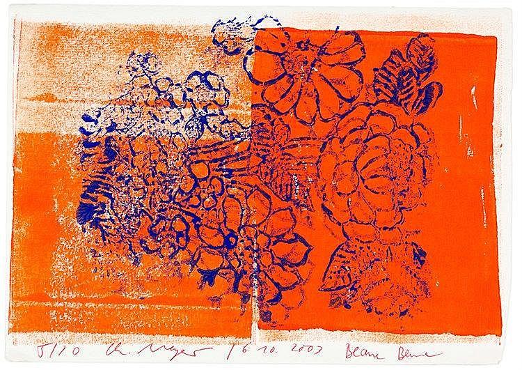 Papenfuß-Gorek, Bert. Sammlung von 4 Werken. 1985-2008. Unterschiedliche Fo
