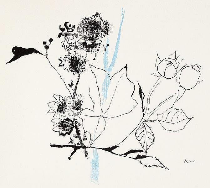 Reiner, Imre - - Appel, Paul. Garten im Herbst. Mit 8 meist zweifarbigen Or