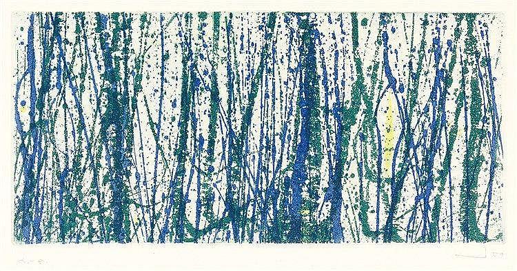 Sandig, Armin. Mappe der Galerie Junge Kunst. Mit 4 (1 farbigen) signierten