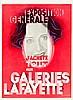 Plakate - - Cassandre, A. M. Exposition Generale. J'achète tout aux Galerie, Adolphe Mouron Cassandre, €400