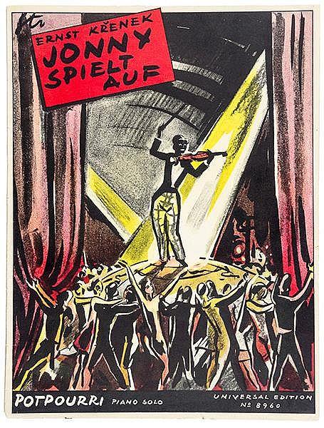 Krenek, Ernst. Potpourri aus der Oper