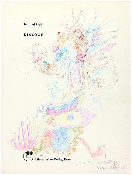 Kraft, Hartmut. Dialoge mit Joseph Beuys, Rolf Escher, Klaus Fußmann, Rolf