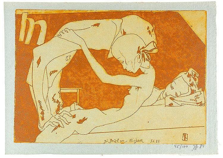 Janssen, Horst. Phyllis. Mit 3 Original-Radierungen und zahlreichen, meist
