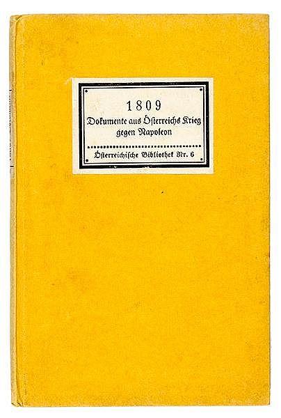 Insel-Bücherei - - Österreichische Bibliothek. Bände 1 - 26 (komplett) . Le