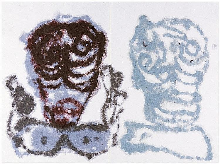 Zylla, Klaus - - Beyer, Marcel. Brauwolke. Mit 6 (4 doppelblattgroßen) farb