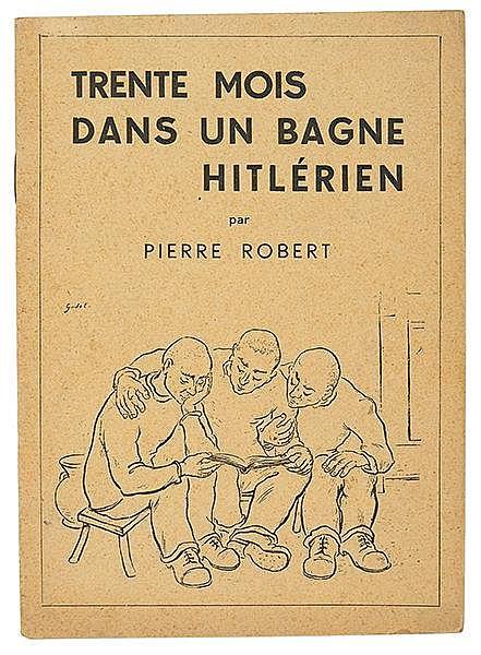 Exilliteratur - - Robert, Pierre (das ist: René Bertholet). Sammlung von 3
