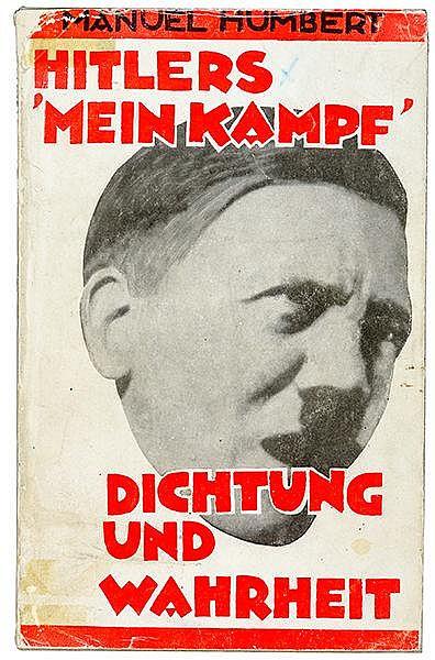 Exilliteratur - - Humbert, Manuel (d. i. Kurt Caro). Hitlers