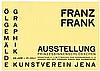 Bauhaus - - Dexel, Walter. Franz Frank. ?lgem?lde. Graphik. Einladungskarte, Walter Dexel, €200