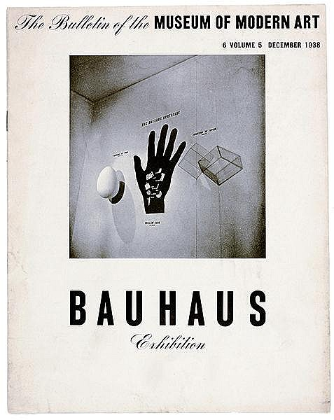 Bauhaus - - The Bulletin of the Museum of Modern Art. 6, Vol. 5, December 1