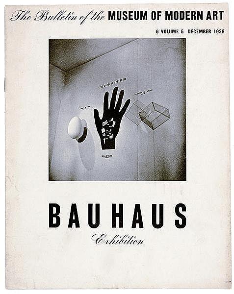 Bauhaus - - The Bulletin of the Museum of Modern Art. 6, Vol. 5, December 1