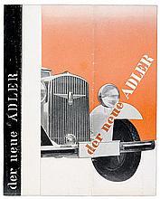 Bauhaus - - Bayer, Herbert. Der neue Adler Standard 8. Modell Gropius. Falt